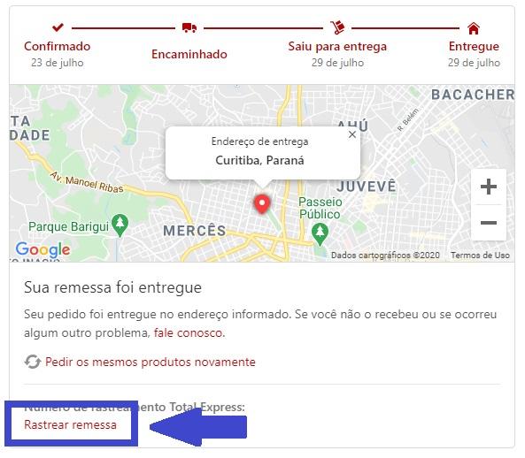 rastrear pedido pantys - rastrear remessa