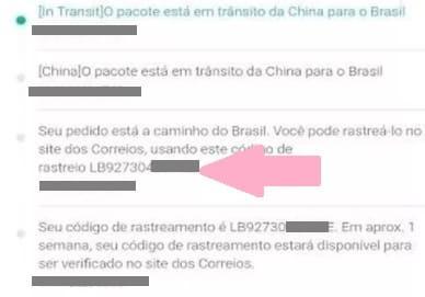rastrear pedido shopee no site do ebanx código de rastreio